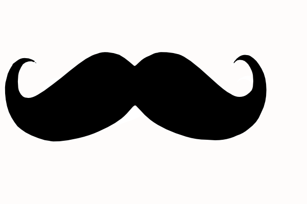 Mustache Curly Clip Art at Clker clipartlook.com - vector clip art online, royalty free  u0026 public domain