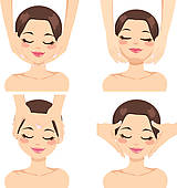 mustache designs u0026middot; Facial Massage Collection