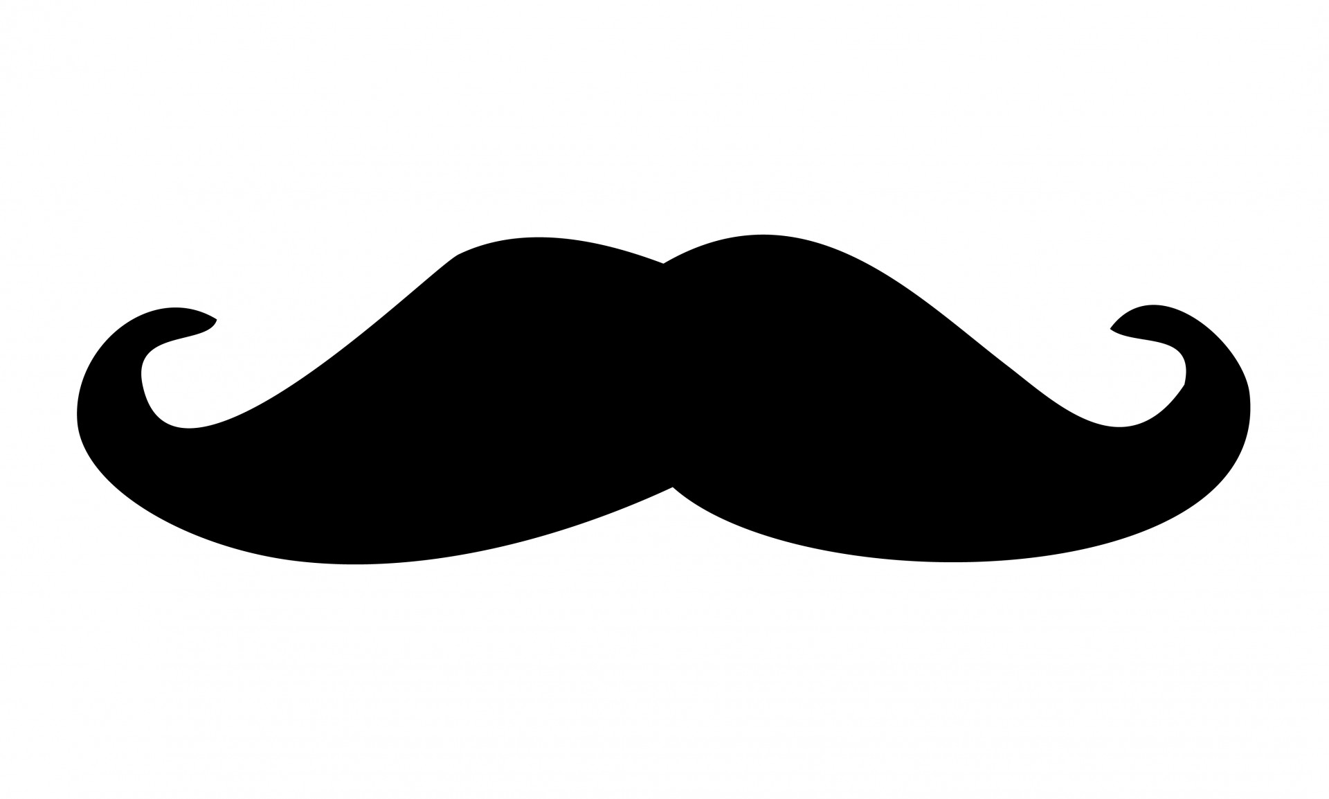 Mustache Outline; Mustache moustache out-Mustache Outline; Mustache moustache outline clipart - Cliparting clipartall.com ...-3