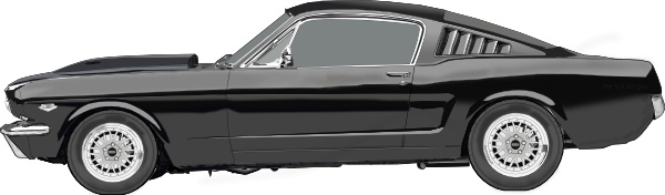 Ford Mustang clip art - Mustang Clipart