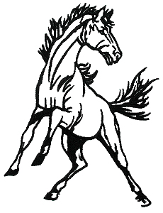 Mustang Clipart #1