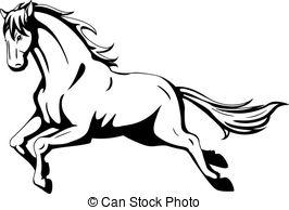 Mustang Horse - Mustang Clipart