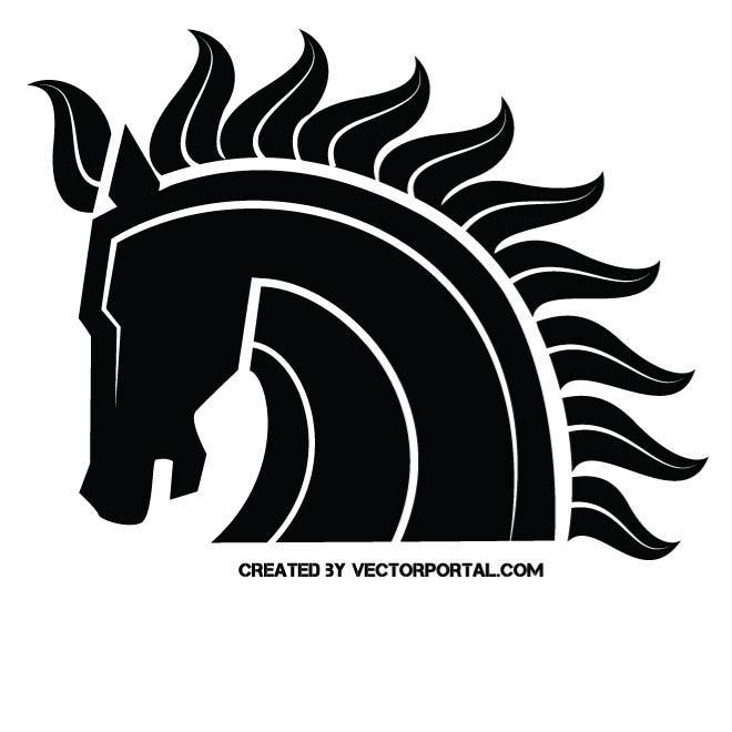MUSTANG HORSE CLIP ART