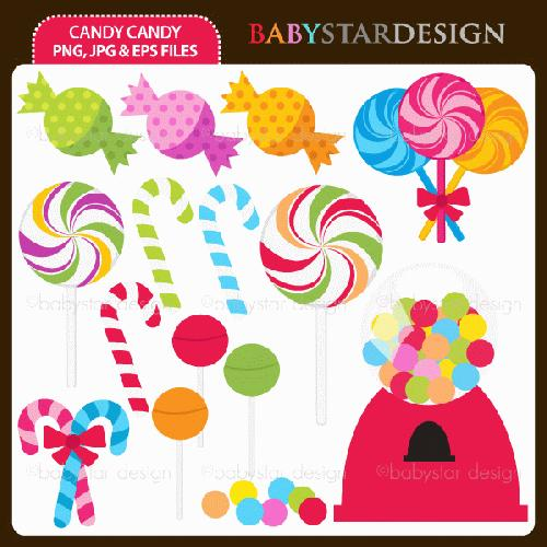 My Grafico Candyland Clipart .