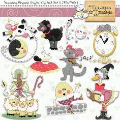 My Grafico: Nursery Rhymes Clipart-My Grafico: Nursery Rhymes Clipart-11