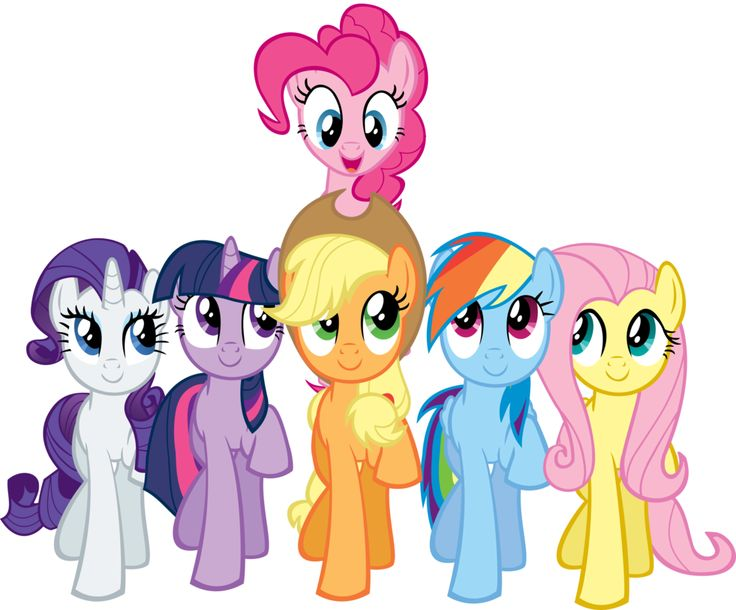 My Little Pony Clip Art Frien