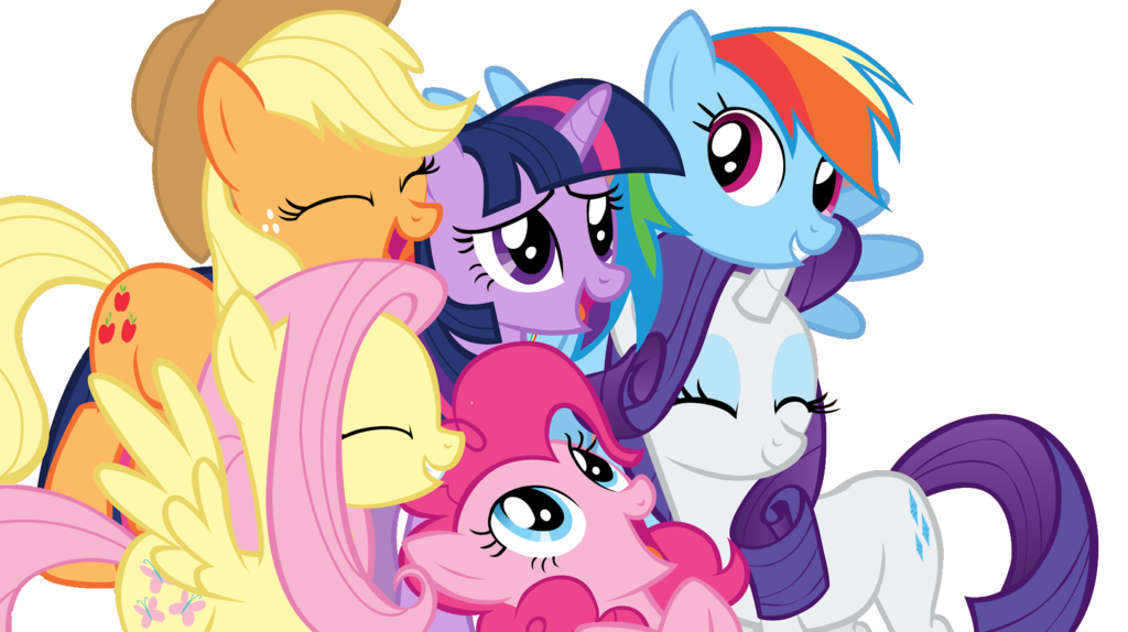 My Little Pony Clip Art Friends By Maguipinkie On Deviantart
