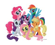 my little pony clip art | My Little Pony by Dark337