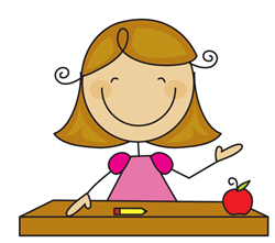 My Name Is Pat Hrynczuk I Tea - Cute Teacher Clipart