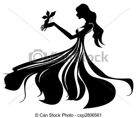 female silhouette - csp2806561