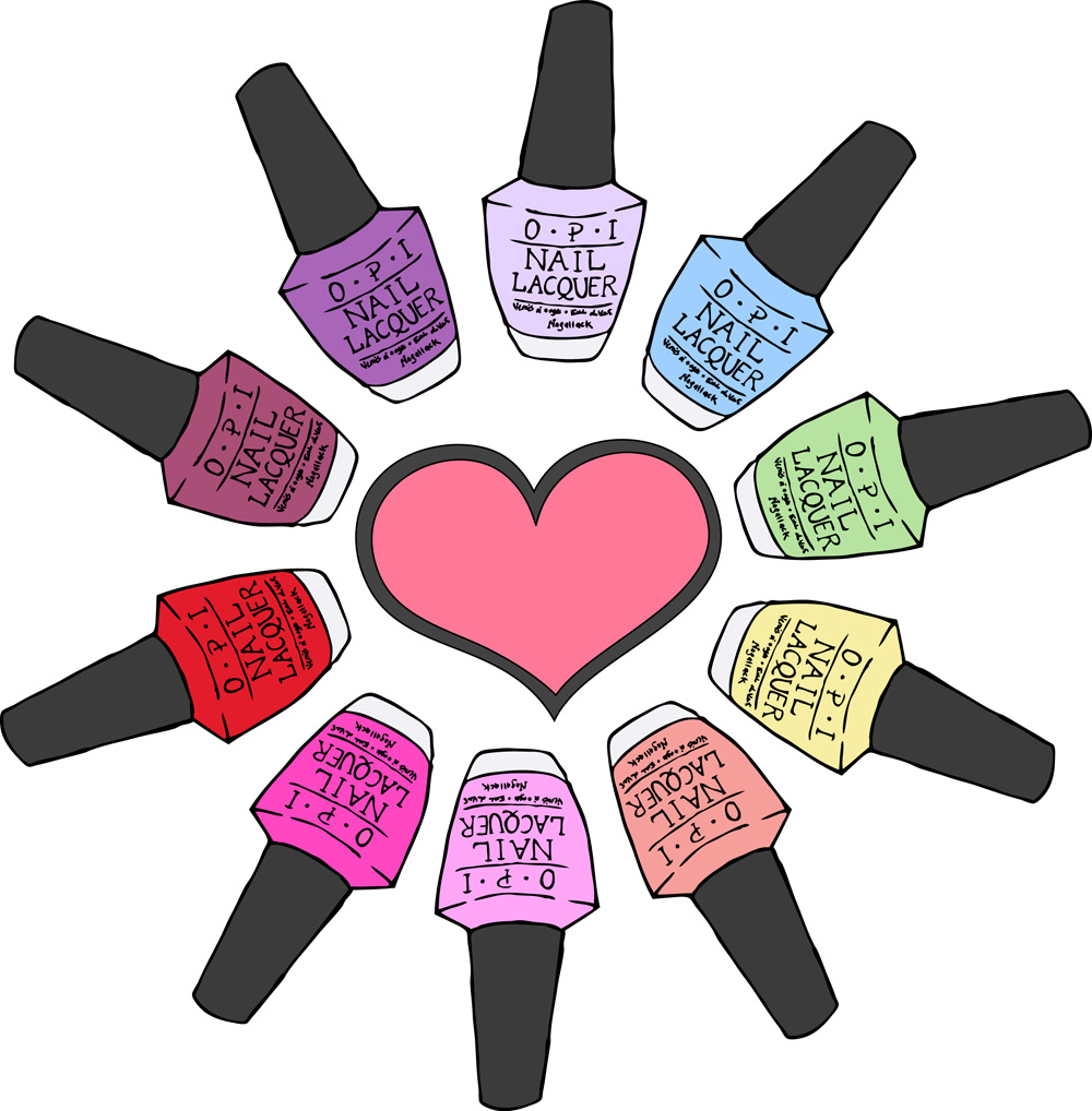 Nail Polish Bottles Clipart Images Pictures Becuo