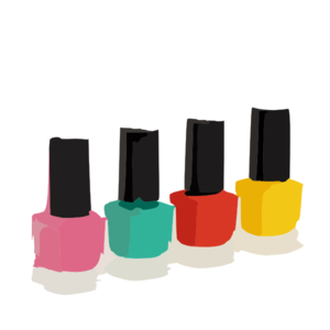 Nail Polish Clip Art At Clker Com Vector Clip Art Online Royalty