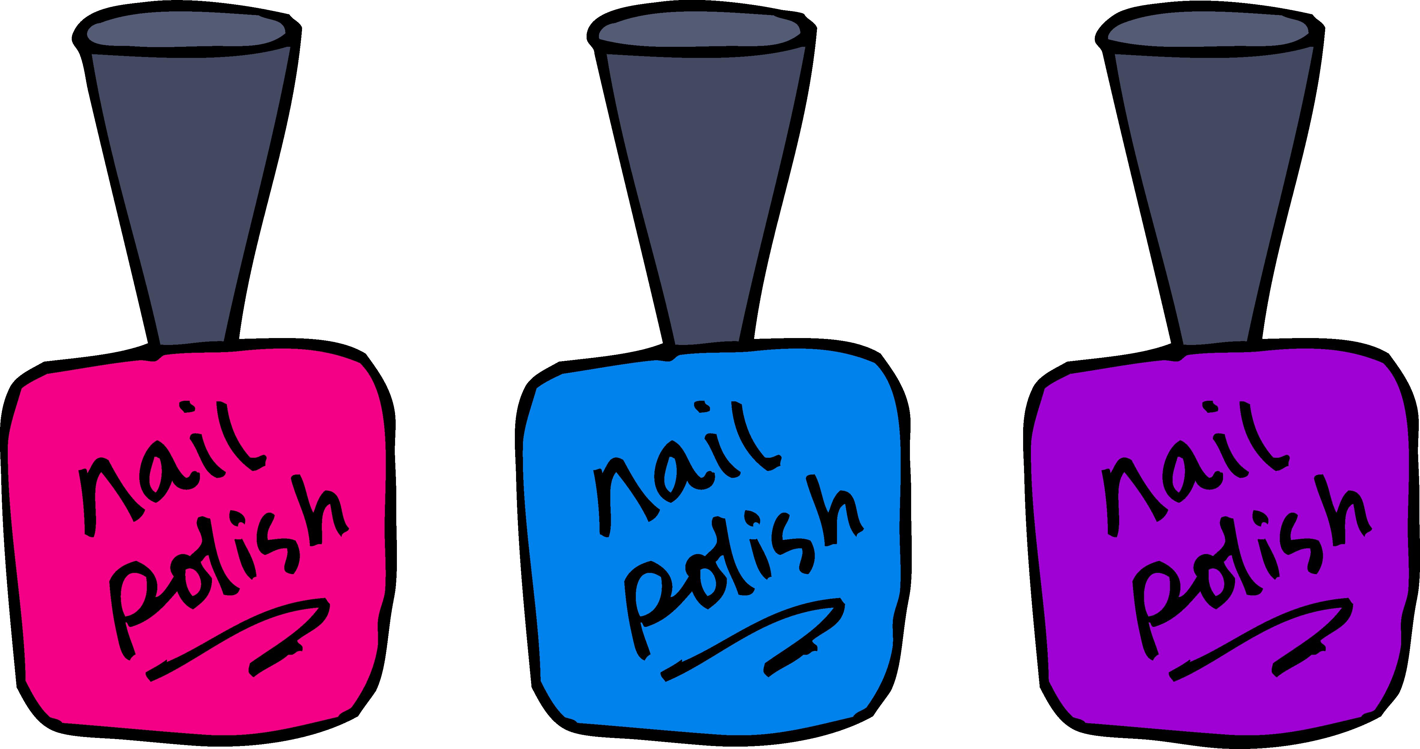 Nail Polish Clip Art-Nail Polish Clip Art-1