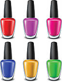 Nail Polish clipart and illustrations