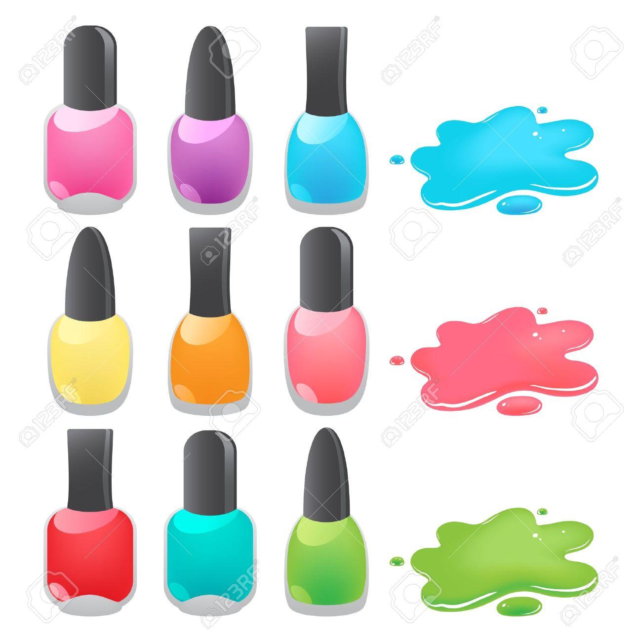 Nail Polish Drop: Bottles Of .-nail polish drop: bottles of .-4