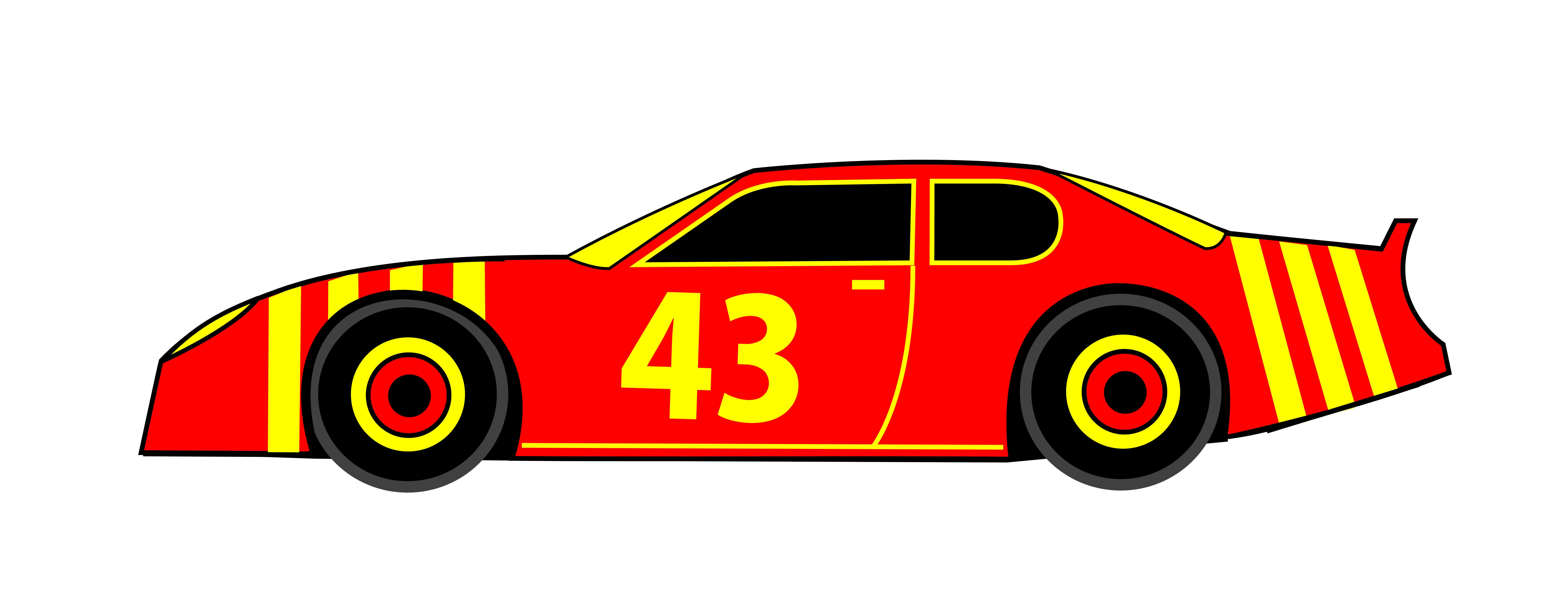 Nascar Race Car Clip Art ..-Nascar Race Car Clip Art ..-8