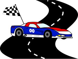 Nascar Race Car Clipart Clip  - Nascar Clip Art
