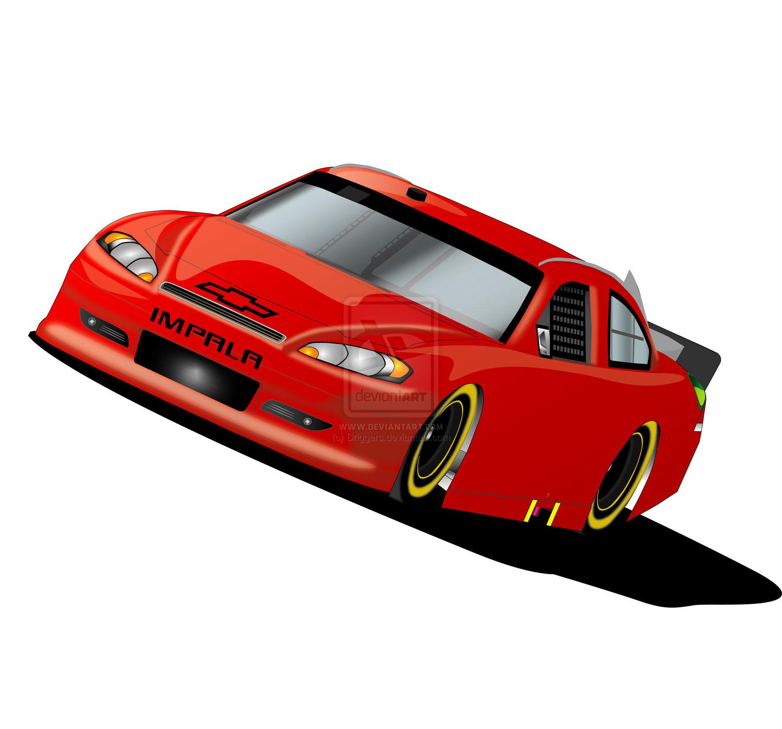 nascar sprint cup cars clip . - Nascar Clip Art