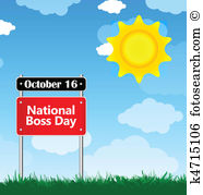 national boss day