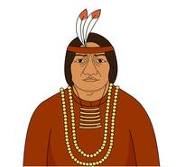 Native American Headdress Clipart Size: 102 Kb