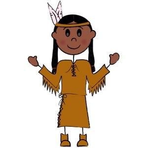 Native American Tipi Clipart .