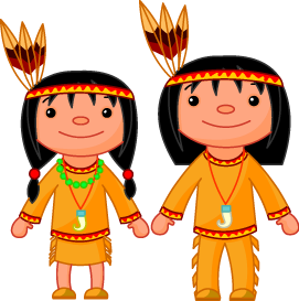 Native Americans - Indian Clipart