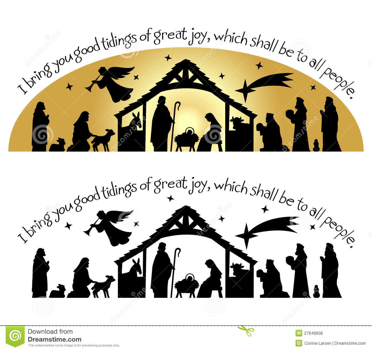 Nativity Clip Art Free