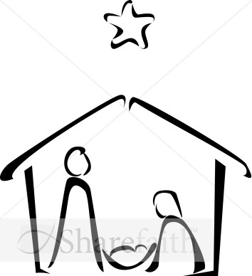 Nativity Clipart 2