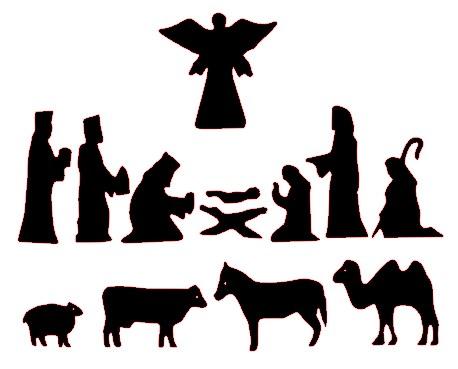 Nativity; Nativity Silhouette Patterns --Nativity; Nativity Silhouette Patterns - ClipArt Best .-8