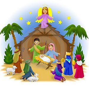 Nativity Scene Clip Art | Free Nativity -Nativity Scene Clip Art | Free Nativity Clip Art 081510» Clip Art-12