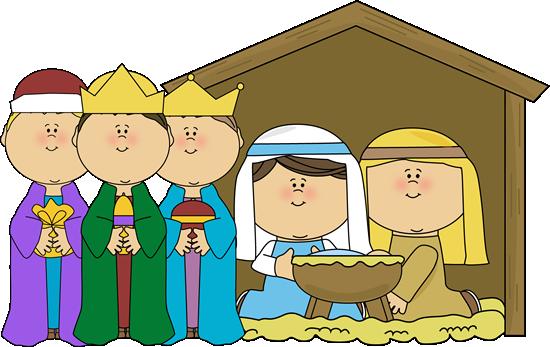 Nativity Scene Clip Art