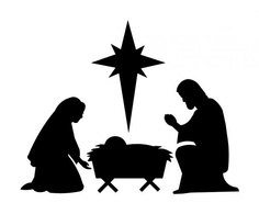 Nativity Silhouette Patterns Clipart Best