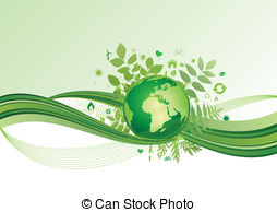 earth and environment icon,green ba - vector background of. ClipartLook.com ClipartLook.com