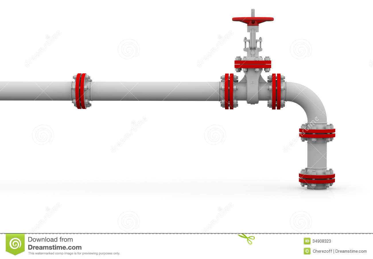 Natural Gas Pipelines Clipart