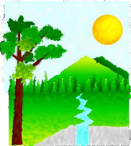 Natural Landscape Clip Art At Clker Com Vector Clip Art Online