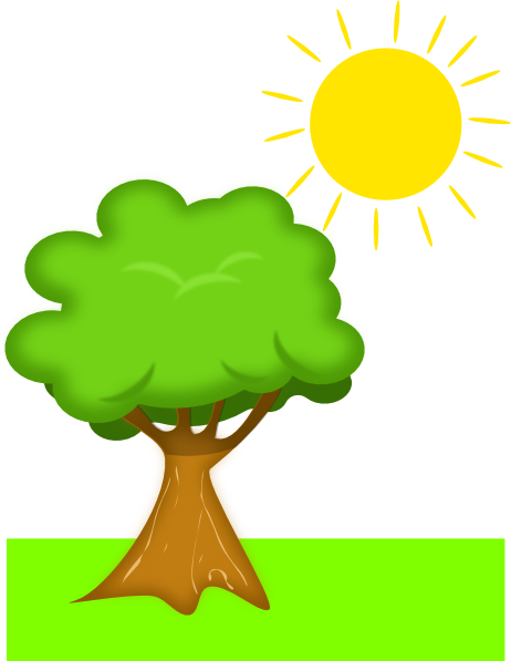 Natural Resources Clipart Tree Under Sun-Natural Resources Clipart Tree Under Sunlight Clip Art-13
