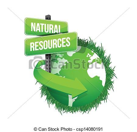 ... Natural Resources Concept Illustrati-... natural resources concept illustration design over white-13