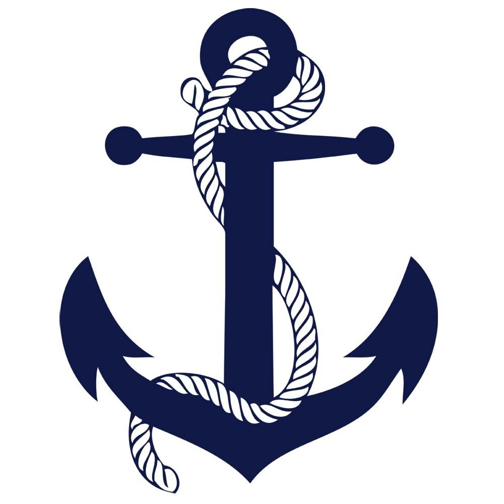 Nautical Clip Art #11739. Nautical Anchor