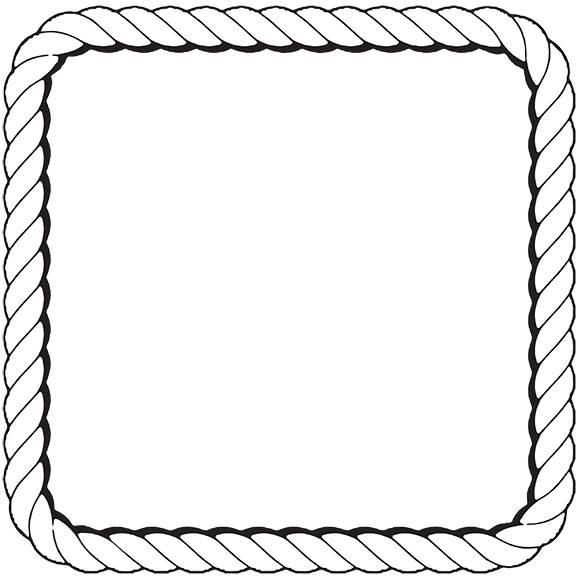 Nautical Rope Border Clipart Best