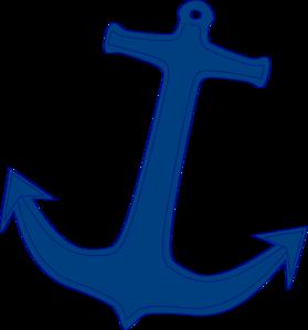 Navy Anchor Clip Art At Clker Com Vector Clip Art Online Royalty