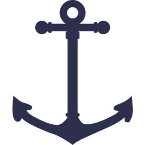 Navy Anchor Clip Art. BUMPER STICKERS Navy Anchor .