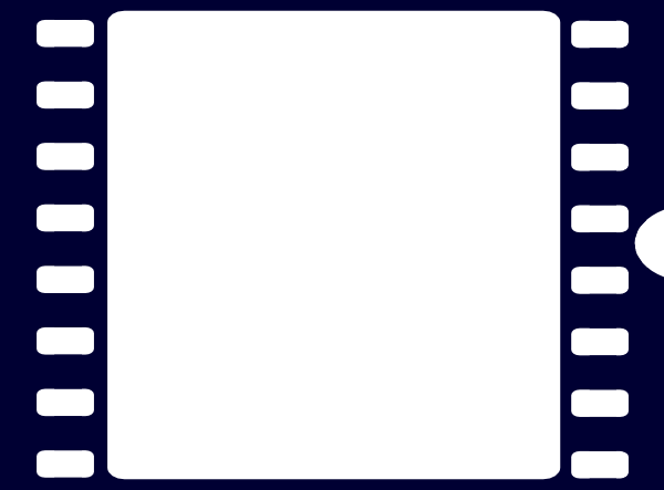 Navy Blue Film Strip Clip Art At Clker Com Vector Clip Art Online