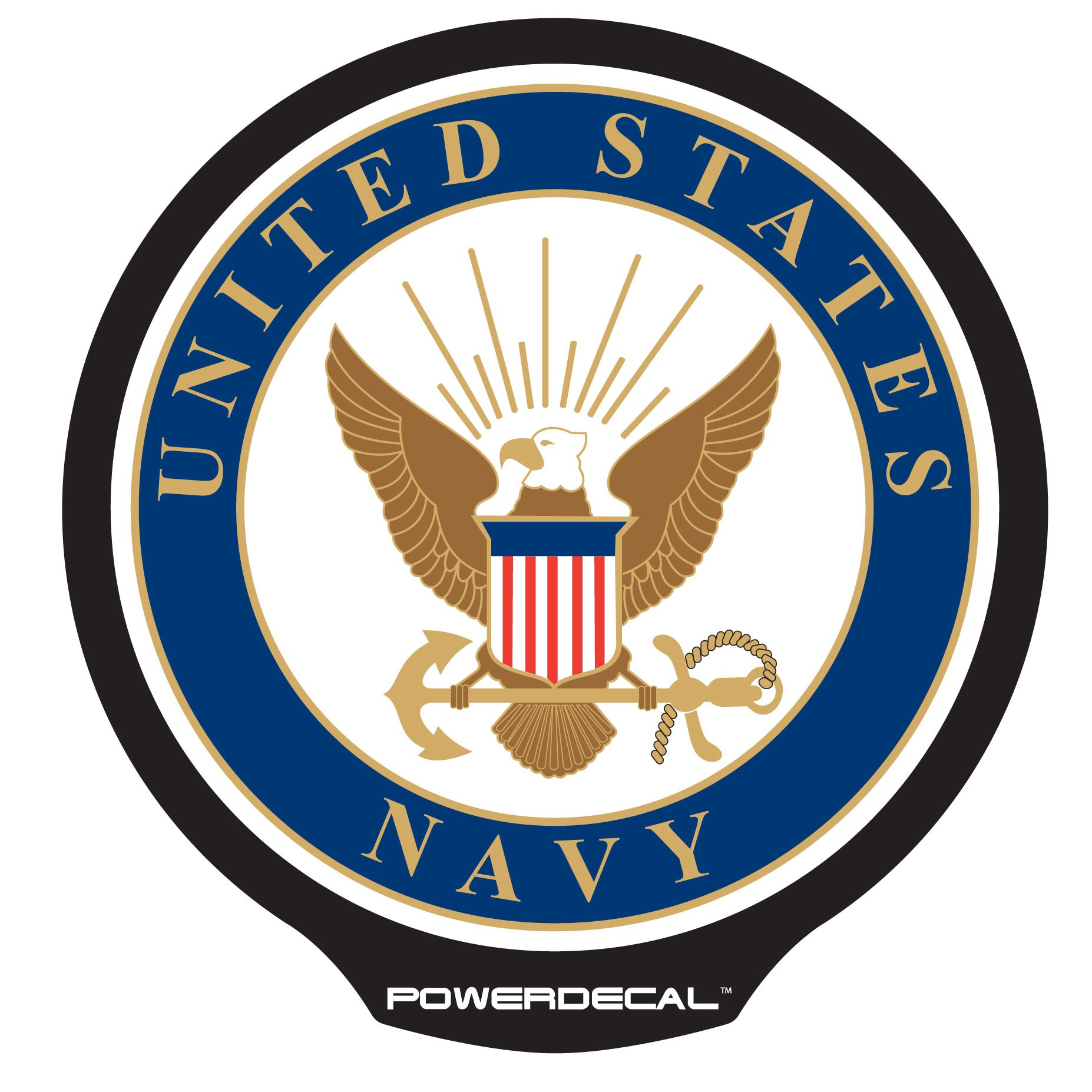 Navy Crest Clipart #1