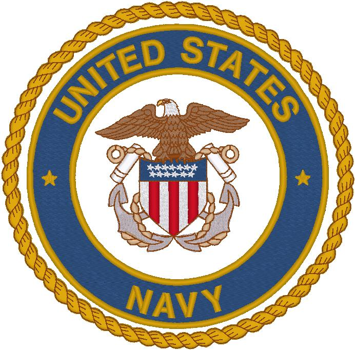 Navy Emblem Clip Art - Navy Logo Clip Art