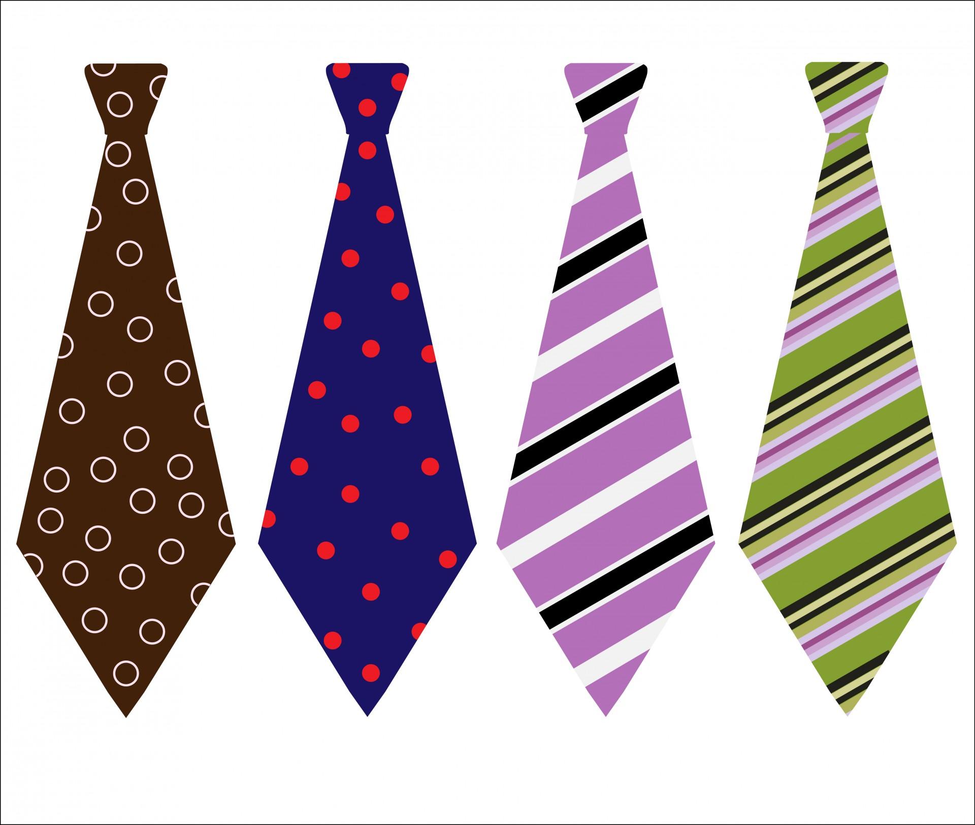 Neck Ties Clipart - Necktie Clipart
