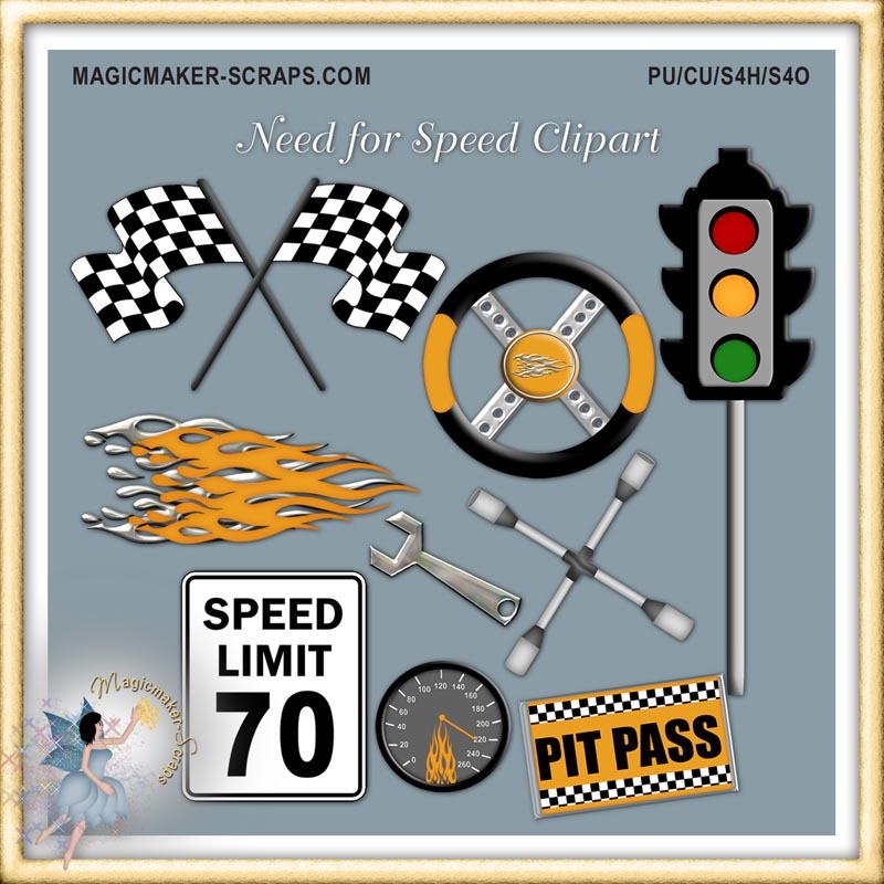 Need for Speed Clipart