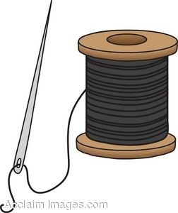 Needle and Thread Clip Art Free | sewing-needle-and-thread-clip-art-i3.jpg | Projects to Try | Pinterest | Clip art, Art and Search