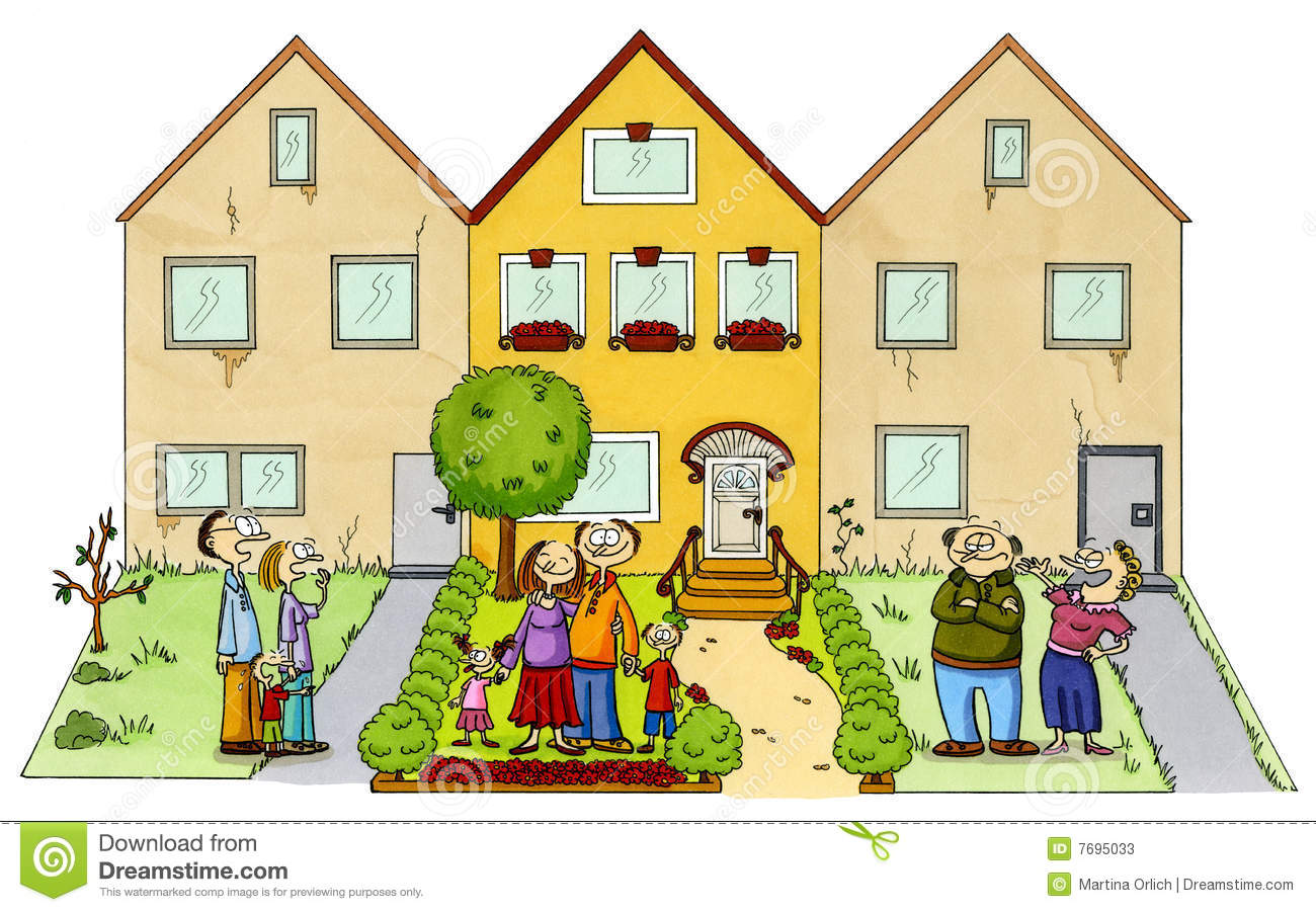 Neighborhood Clip Art-Neighborhood Clip Art-16