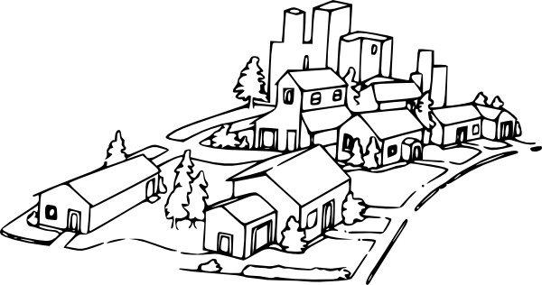 Neighborhood clip art-Neighborhood clip art-12