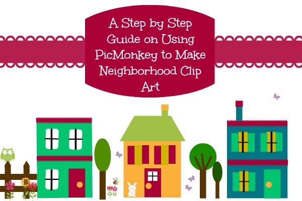 Neighborhood Clip Art
